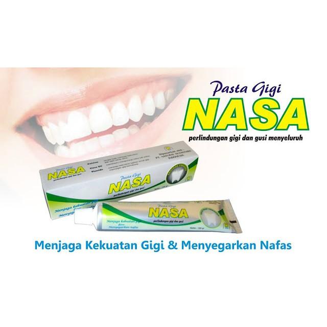 Pasta Gigi Nasa - Pemutih Gigi   Penghilang Karang Gigi Alami (GARANSI UANG  KEMBALI 2X)  dd436c731d