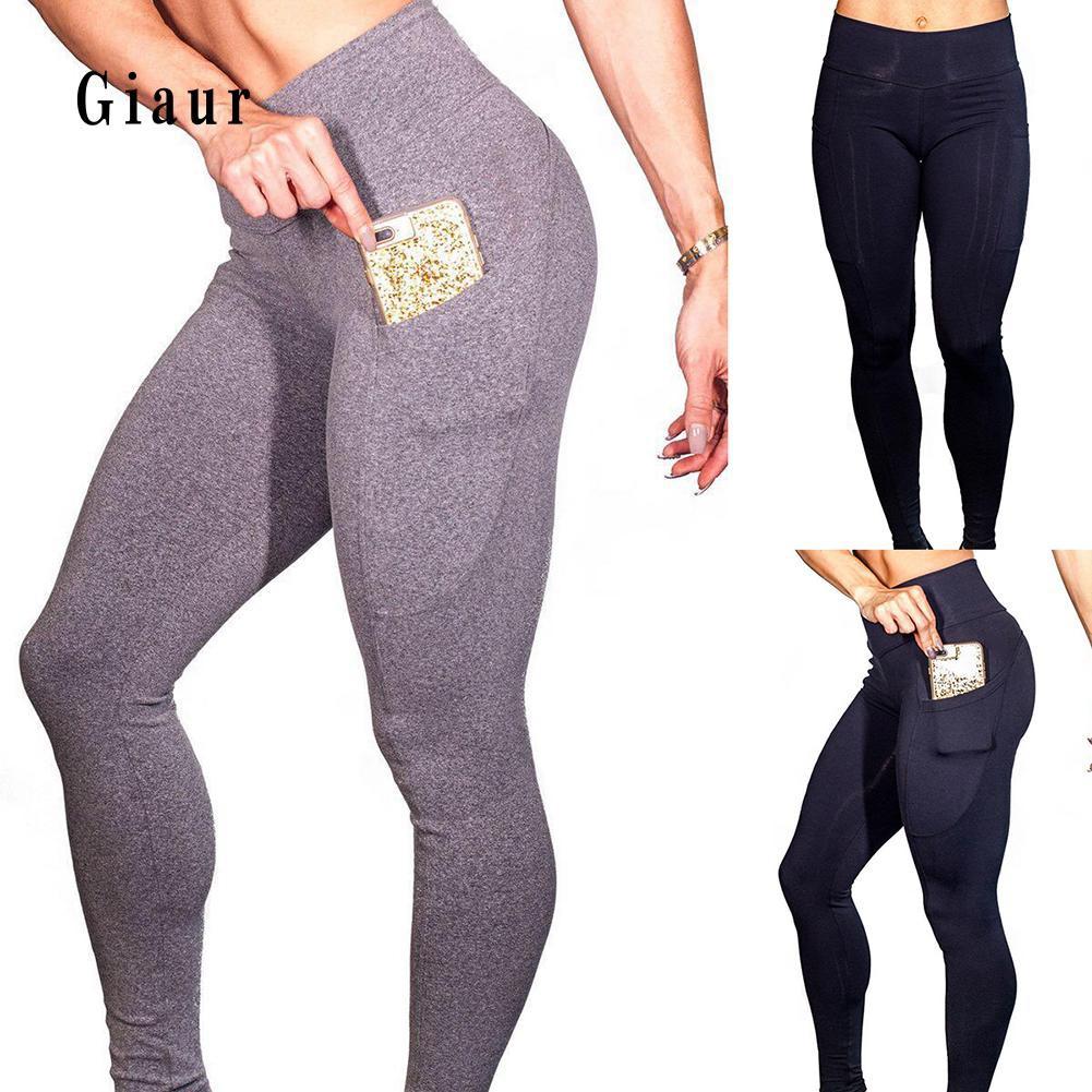 Celana Legging Saku Sexy Untuk Gym Fitness Yoga Shopee Indonesia