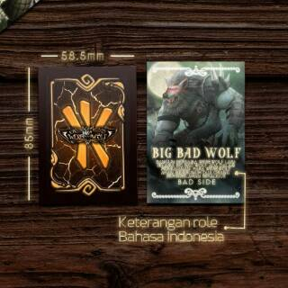 Download Kartu Werewolf Indonesia