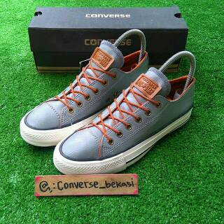 Sepatu sneakers Converse All Star grey classic kulit leather High Wuality  vietnam 76b3fc75c3
