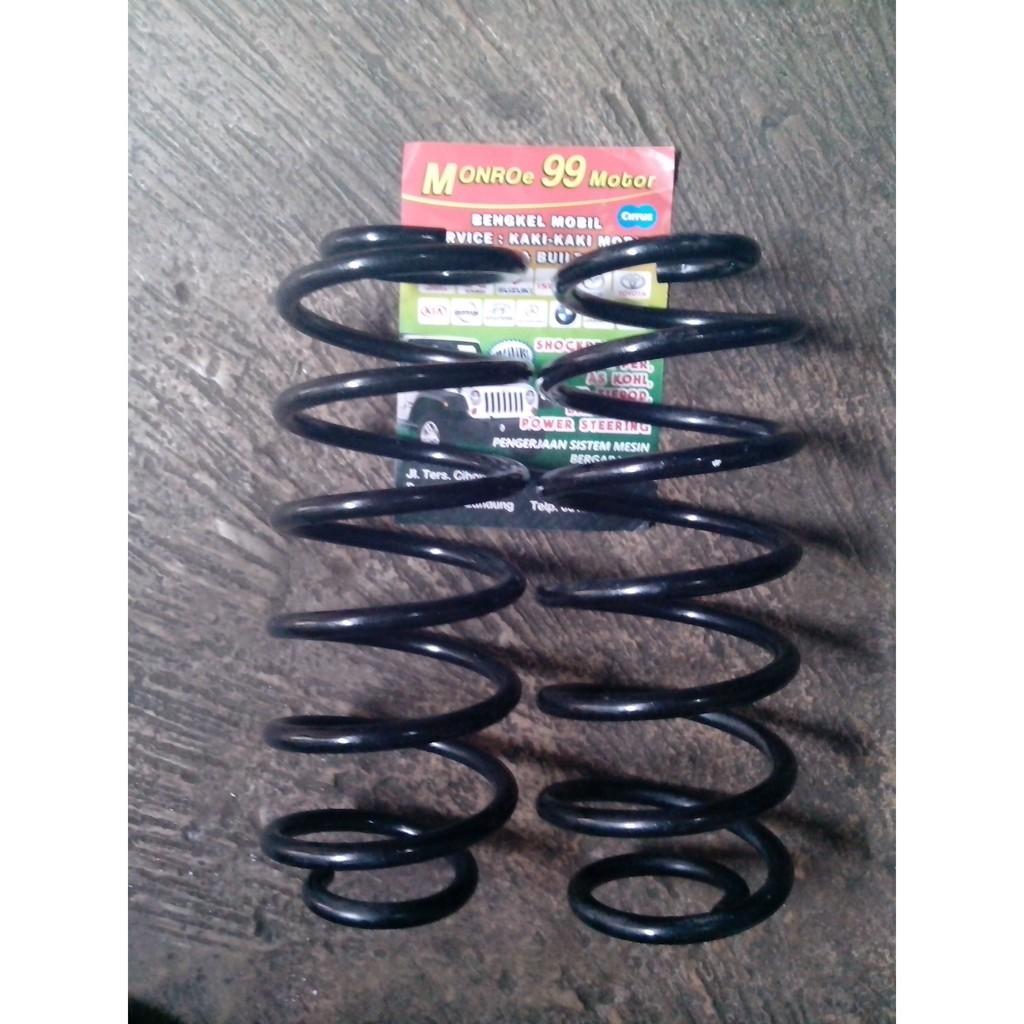 Per Keong Coil Spring Belakang Honda Brio Shopee Indonesia Ferrox Filter Udara Racing Stainless Steel For
