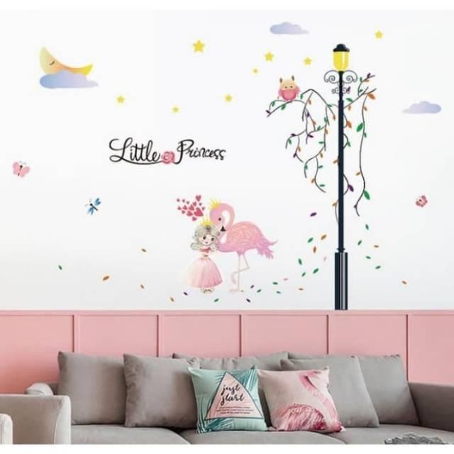 Wallstiker Wallsticker Wall Sticker Stiker Dinding Little Princess