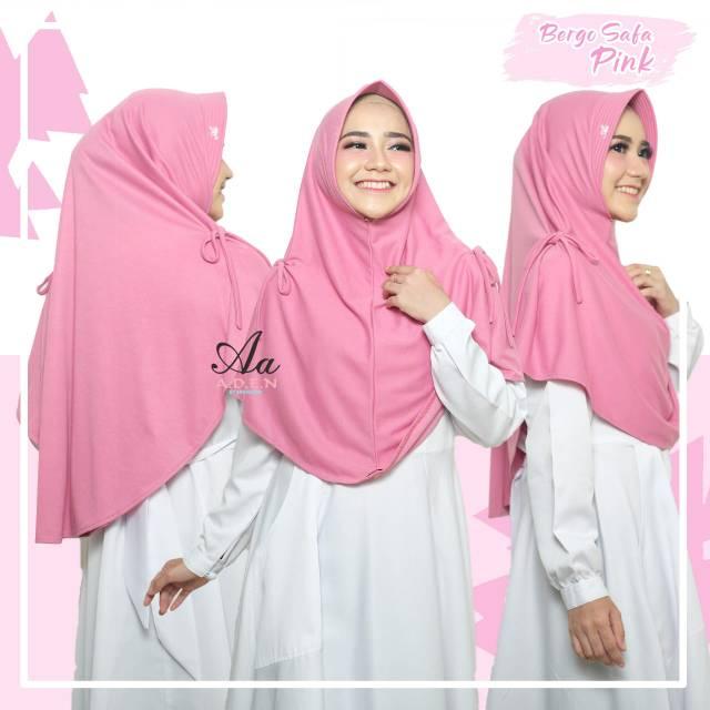 Bergo Safa By Aden Hijab Bergo Serut Shopee Indonesia