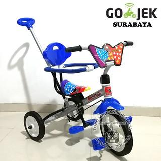 Sepeda Anak Murah Dorong Roda 3 Cat | Sepeda Anak Grosir