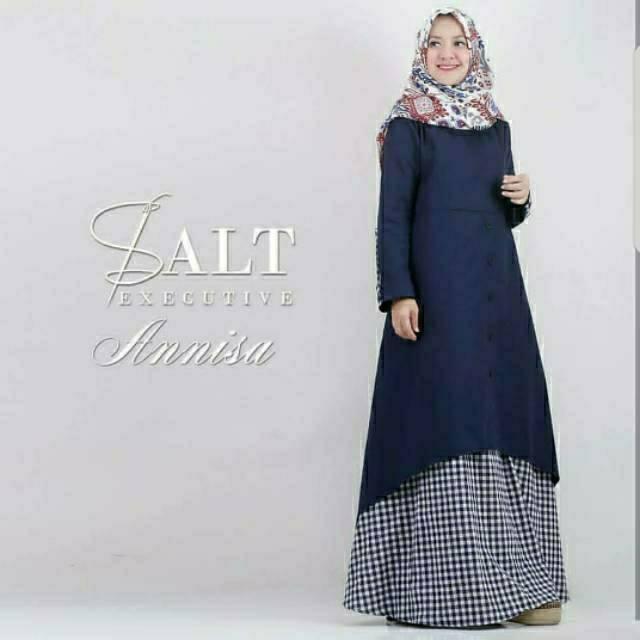 JUMBO WANITA ANISA DRESS/Fashion muslim/murah wanita/casual dress/maxi gamis