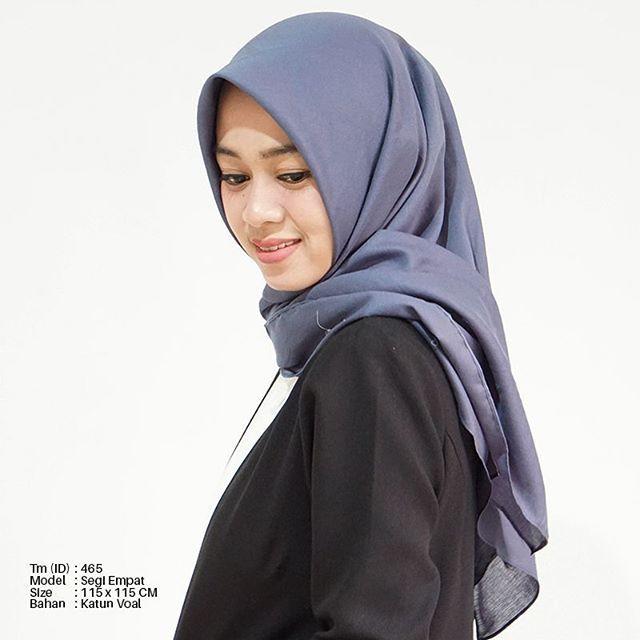Hijab Bahan Voal Polos 9