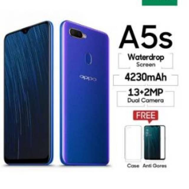 OPPO A5S BLUE ( 3GB/32GB ) BISA BAYAR MELALUI KARTU CREDIT ...