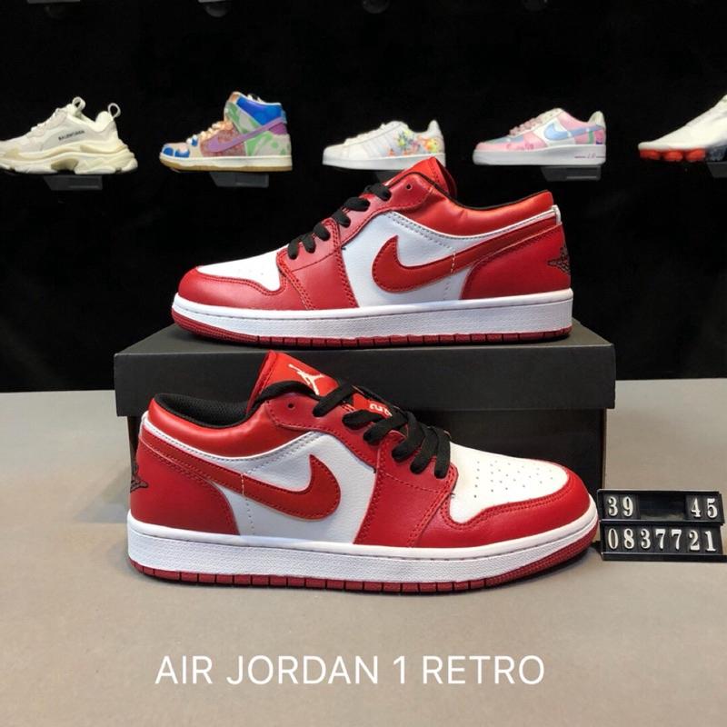 ❤Nike NIKE AIR JORDAN 1 RETRO Jordan Series Low Band Jordan 1 AJ 1 Leisure  Shoes  c247e5d2b9