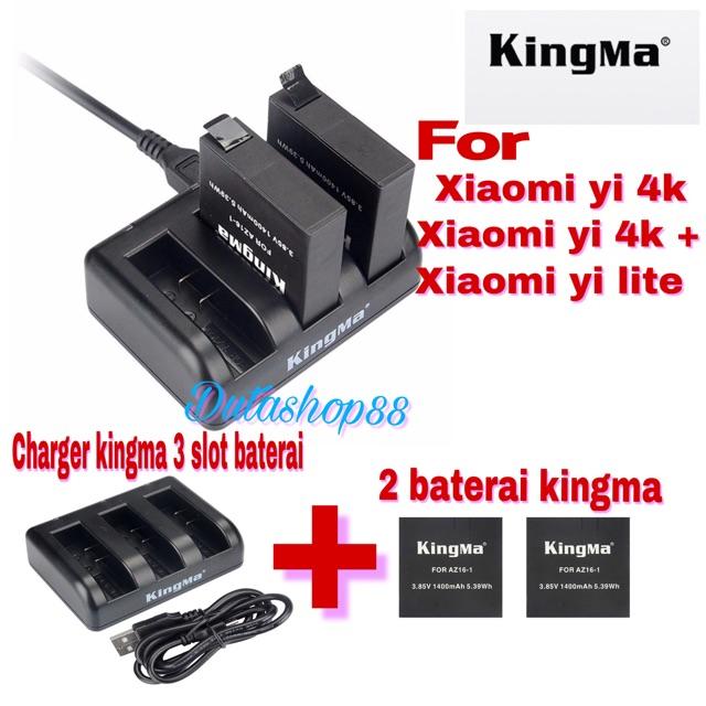 Kingma Replacement Baterai For Xiaomi Yi 4K - Action Camera | Shopee Indonesia