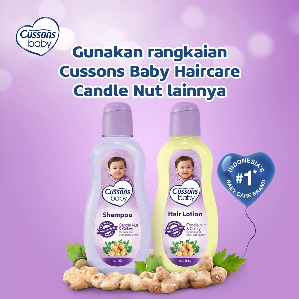 Cussons Baby Shampoo Candle Nut & Celery 200ml-5