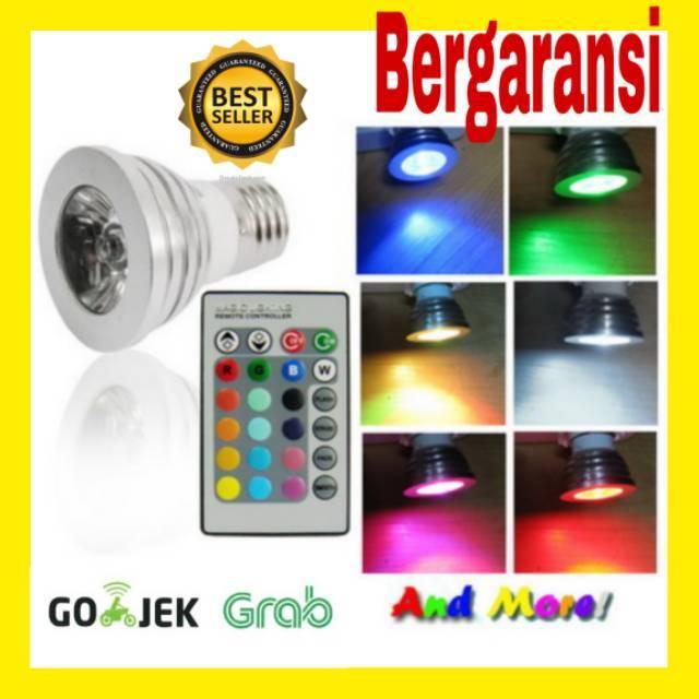 Bohlam Led Dengan Remot Kontrol Lampu Dekorasi Rumah 16 Warna Lampu Taman 16 Warna Shopee Indonesia