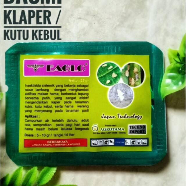 Obat Pertanian Untuk Membasmi Kutu Kebul Atau Klaper Putih Dan Wereng Pada Segala Tanaman Shopee Indonesia