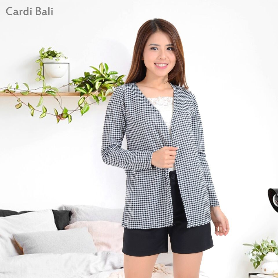 Belle Fashion Cardigan Murah Wanita Kekinian Lengan