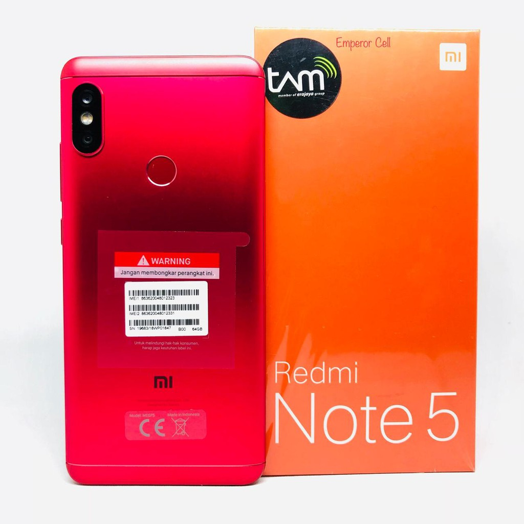 Xiaomi Redmi Note 5 Pro Ram 4gb Rom 64gb Global Version Garansi 1 Mi 128gb Tahun Shopee Indonesia