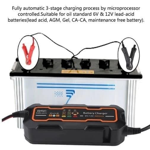 charger aki portable / charger aki mobil / charger aki motor