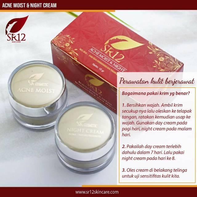 Acne Moist Cream Shopee Indonesia