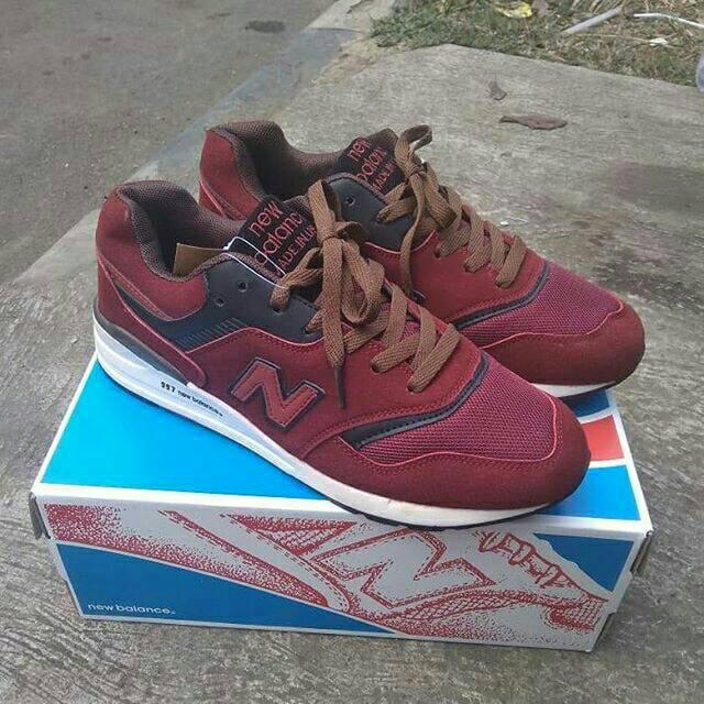 172bed4cd8fee NEW BALANCE 997 MAROON   Shopee Indonesia
