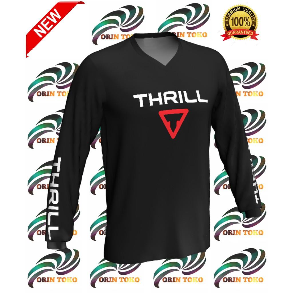 Jersey Sepeda dan Trail Thrill Shopee Indonesia