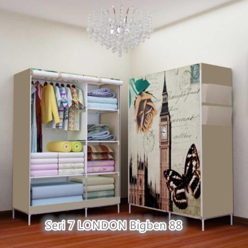 [Terlaris] - Allunique Lemari Pakaian Portable - Salur | Shopee Indonesia