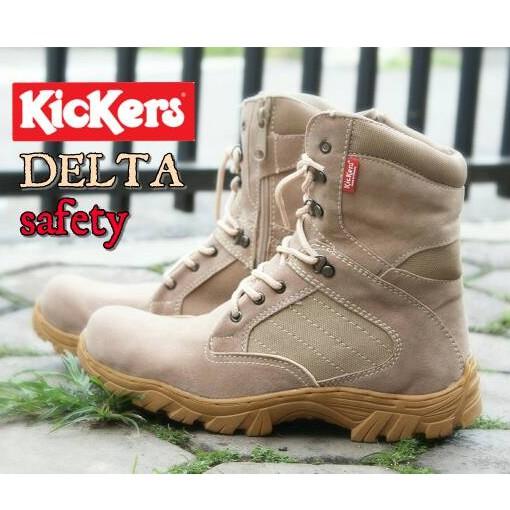 Sepatu Kickers Boots Safety Porsh Delta  28c76bc737