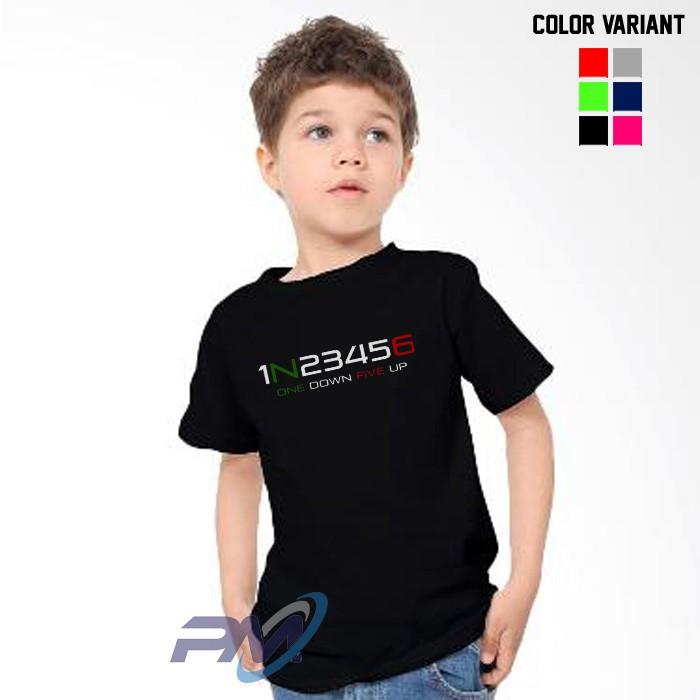 Kaos Baju Anak 1N23456
