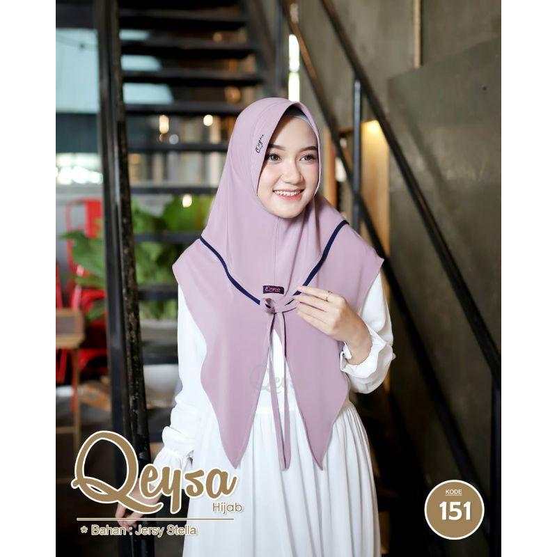 Qeysa Hijab Original / Qeysa hijab kode 151 / Jilbab Qeysa Belah