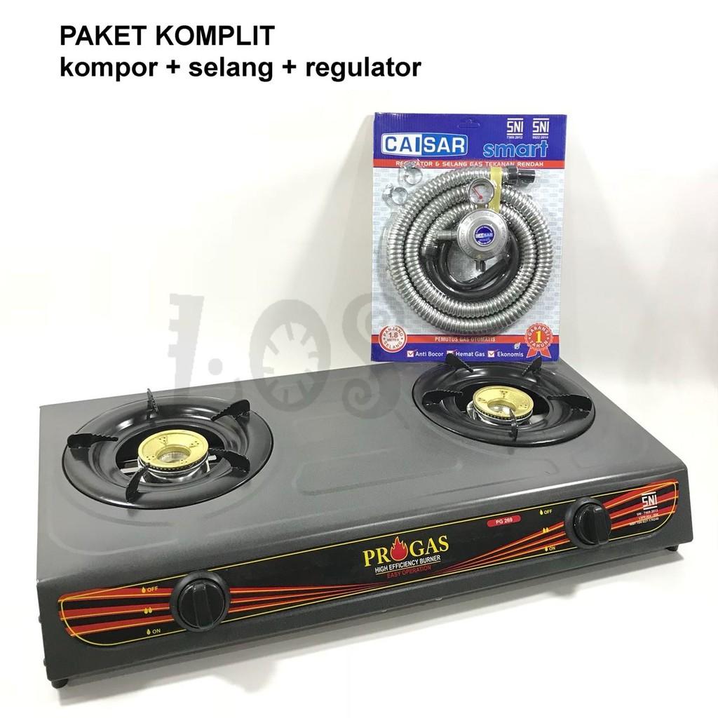 MLS KGST 102 Kompor Gas 1 Tungku SNI Hitam Gratis Paket Selang Regulator Winn Gas   Shopee Indonesia