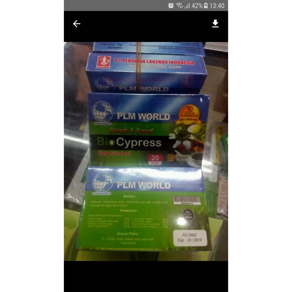 Bio Cypress Herbal Original Obat Sendi Syaraf Dan Nyeri Tulang Biocypress 20 Pil Shopee Indonesia