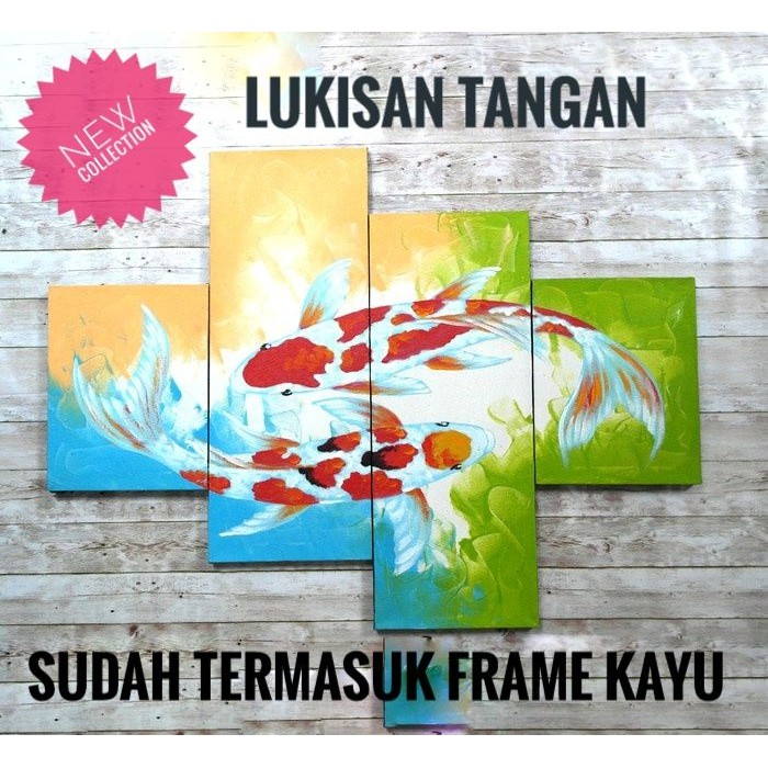 New Lukisan Ikan Koi Ku7Y .. Ddg1...  1ba5263fb9
