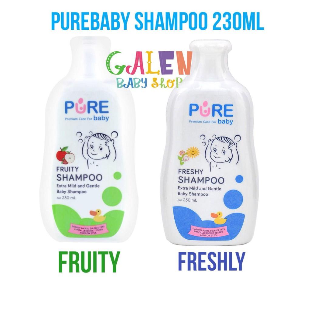 Morinz Pure Baby Shampoo Freshy Dan Fruity 230ml Shopee Indonesia Wash 2in1