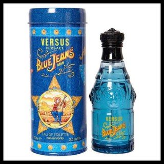 Versace Blue Red Jeans Men Edt 75 Ml Parfum Original Shopee Indonesia