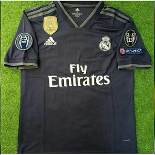 f4419a6b1 BAJU BOLA REAL MADRID LENGAN PANJANG JERSEY REAL MADRID LS AWAY 2018 ...