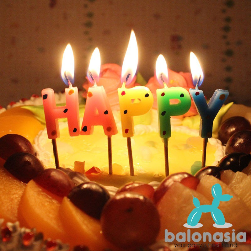 lilin/candle/i love you/love/huruf/alphabet/art/party/pesta/birthday   Shopee Indonesia