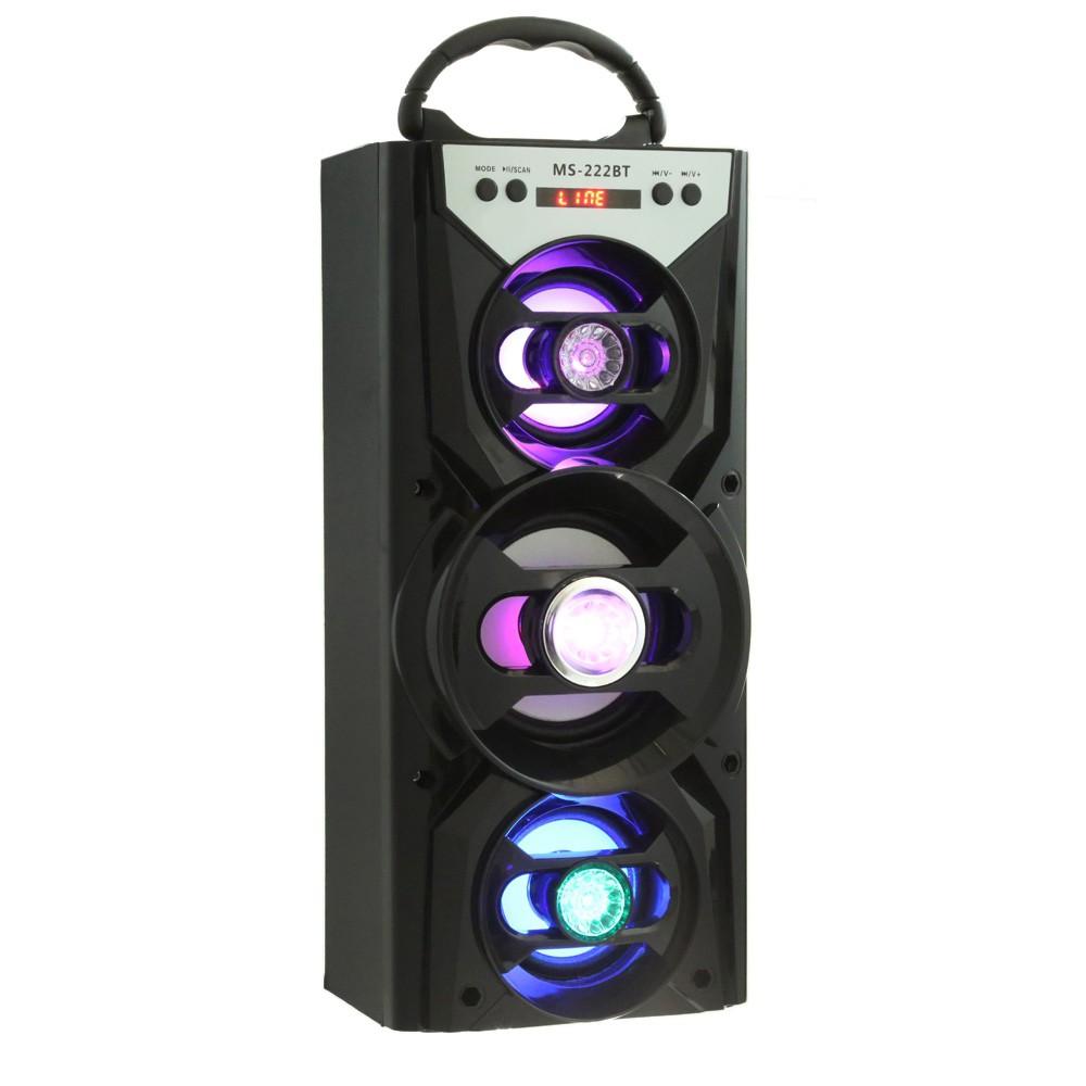 Ms 222bt Speaker Bluetooth Dengan Aux Usb Slot Kartu Tf Shopee Simbadda Cst 800n Bt Garansi Resmi Indonesia