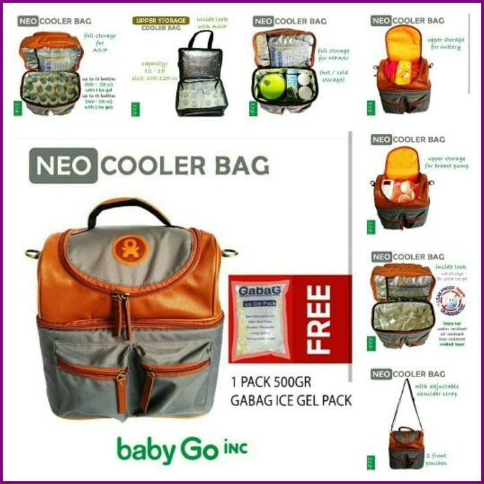 babyGO inc Neo Cooler Bag / babyGOinc Tas Perlengkapan Bayi | Shopee Indonesia