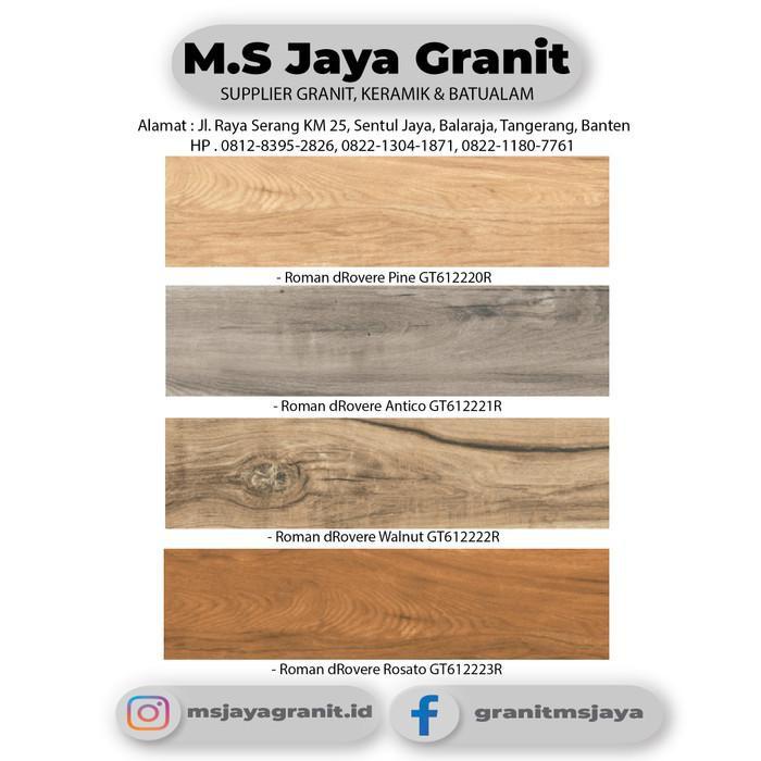 Granit / Roman Granit 15X60 Motif Kayu Gt612220R Drovere Pine Grade B