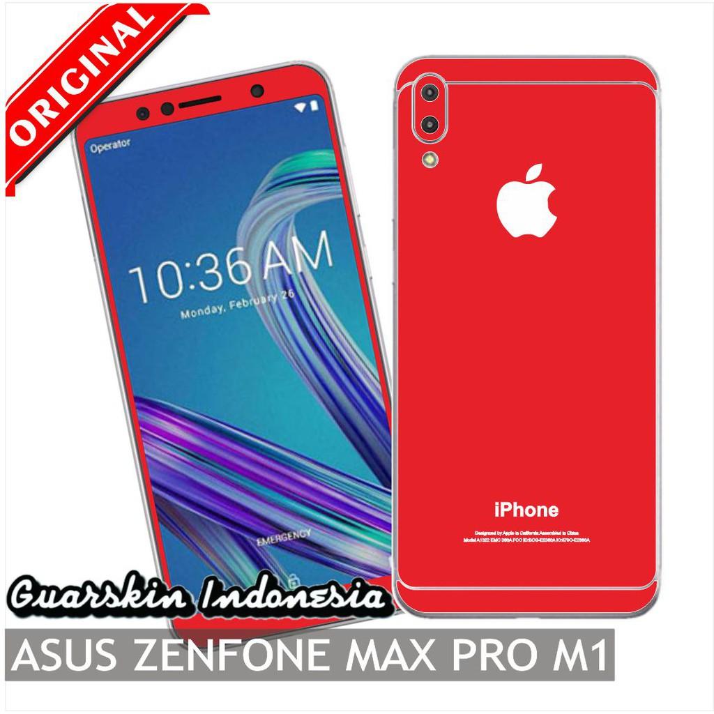 Asus Zenfone Max Pro M1 Premium Skin Garskin For Case Iphone Style