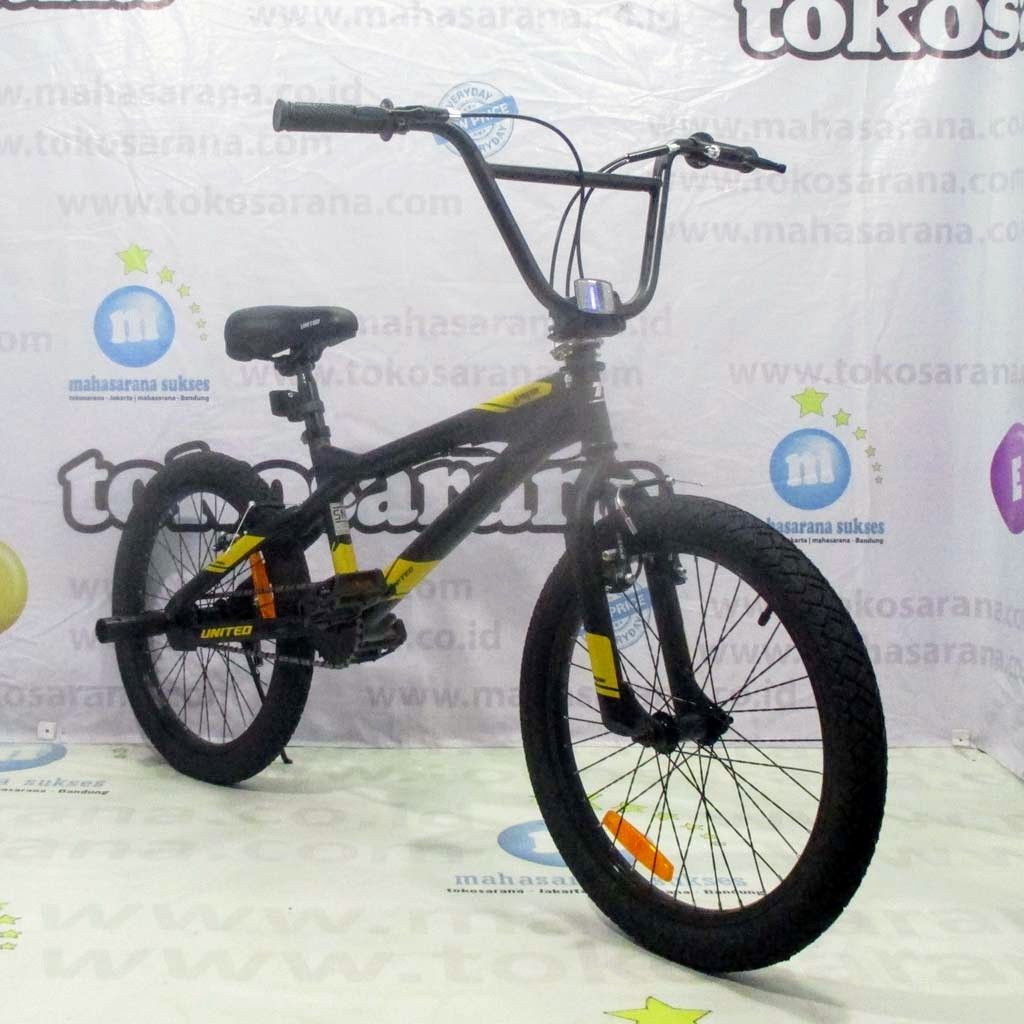 Sepeda Bmx United Jumper X 01 Freestyle Remaja Dewasa 20 Inci X 2 35 Steel Gear Ratio 36t 16t Rotor Shopee Indonesia
