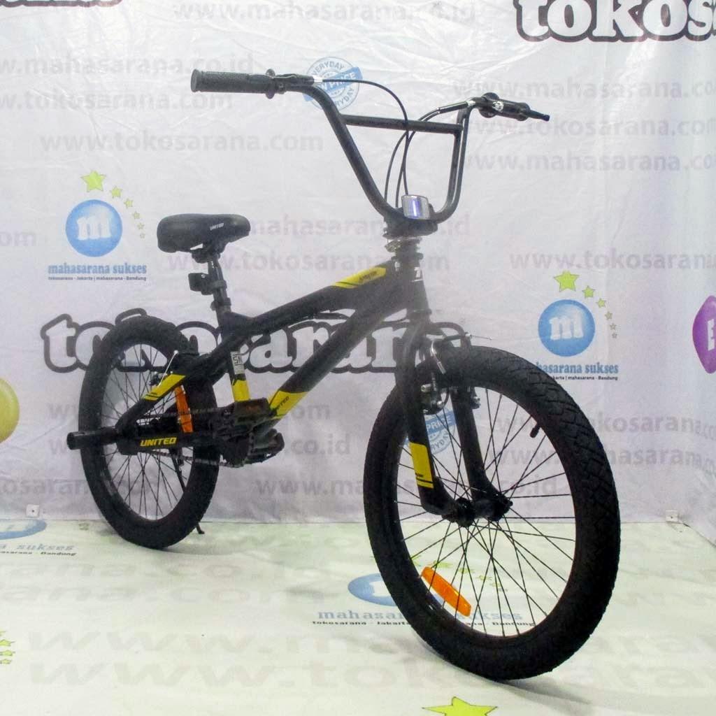 Sepeda Bmx United Jumper X 01 Remaja Dewasa 20 Inci Hi Ten Steel Stem With Rotor Freestyle Bmx Bike Shopee Indonesia