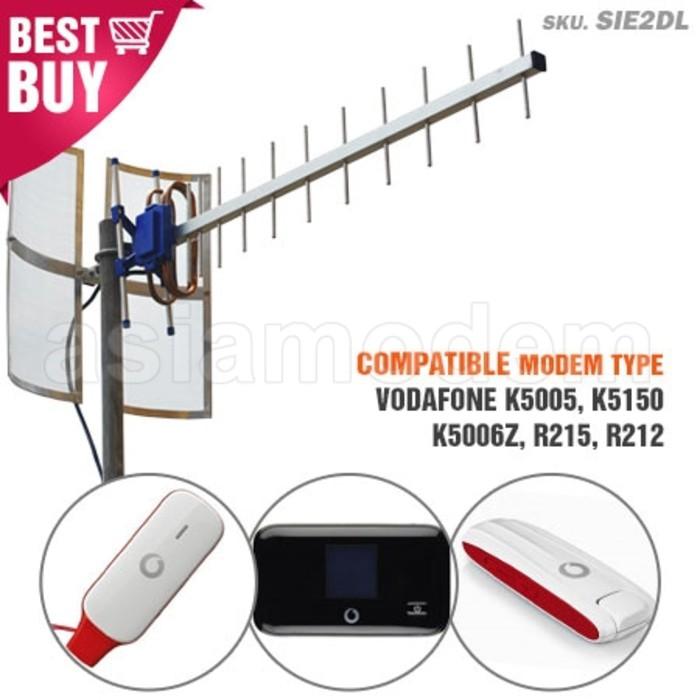 Antena Yagi TXR145 Huawei E3276 E3272 E3372, Vodafone K5007 Penguat Sinyal Modem 3G 4G Dual Pigtail | Shopee Indonesia