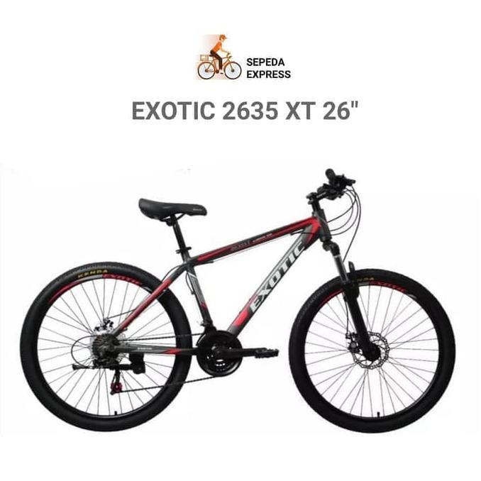 BBIKE141 Sepeda Dewasa MTB 26 Inch Exotic 2635 XT KHUSUS GOSEND