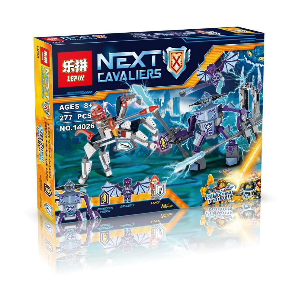 PROMO Lepin Bricks 14026 Nexu Nexo Knights Lance vs Lightning Berkualitas | Shopee Indonesia