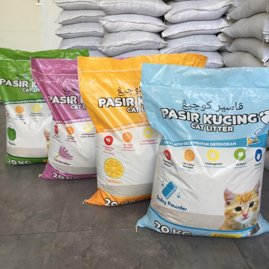 Pasir Kucing Kawan Cat Litter 20kg Shopee Indonesia