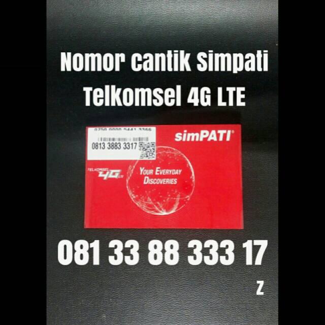 Toko Online plazanomor | Shopee Indonesia -. Source · Nomor Cantik Simpati .