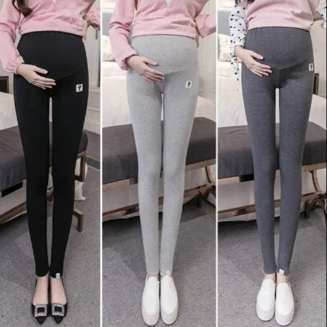 Celana Legging Panjang Hamil Bumil Ibu Hamil Fashion Shopee Indonesia