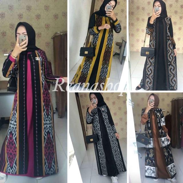 Gamis Batik Tenun Troso Asli Shopee Indonesia