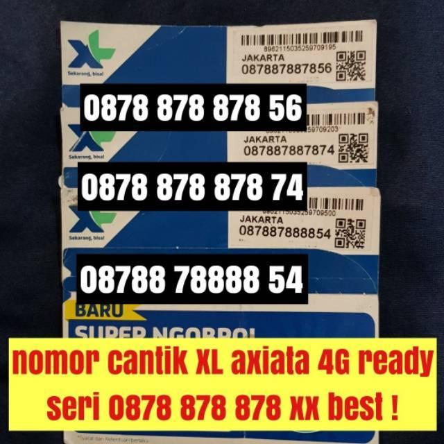 nomer cantik XL seri tahun kartu perdana 4G ready nomor cantik pilihan | Shopee Indonesia