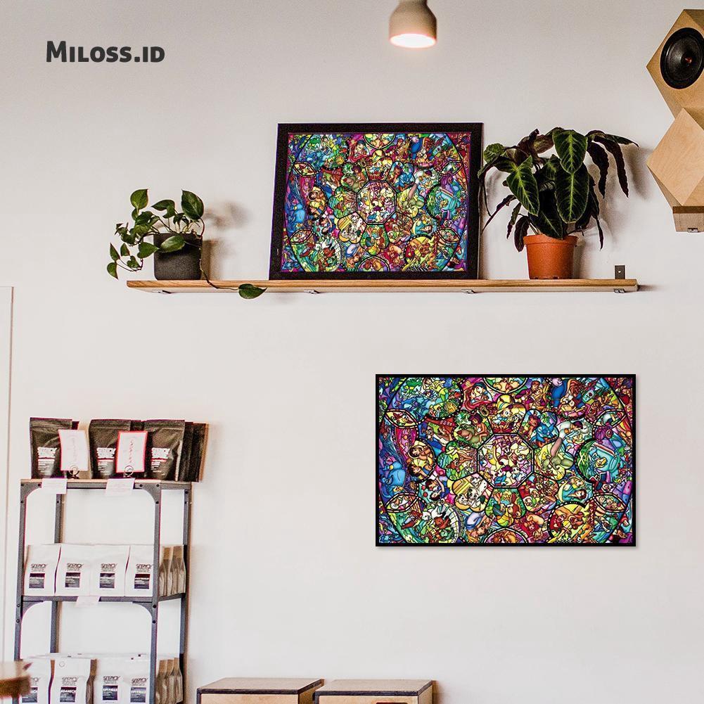 5D DIY Full Drill Square Diamond Painting Embroidery Cartoon Cross Stitch Decor