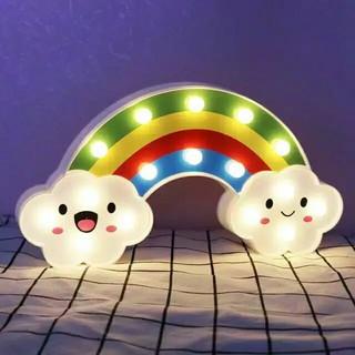 lampu tidur lampu dekorasi lampu kekinian salju pelangi
