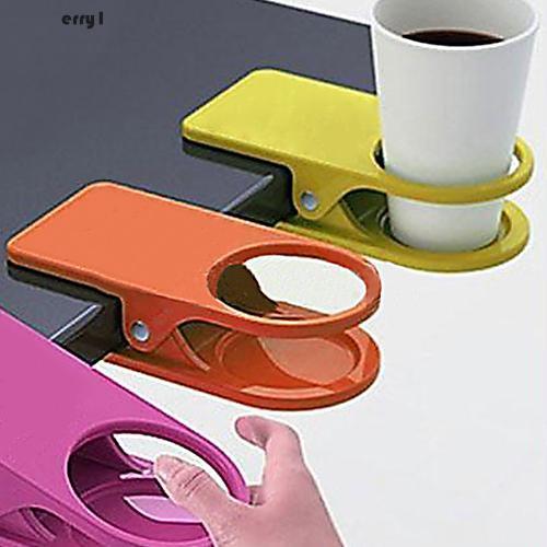 Jika Anda membeli [CHERRY1]Home Office Desk Cup Clip Drink Coffee Cup Holder Multifunction Table Side Decor sekarang Anda akan menghemat 20% %, Karena Harga ...
